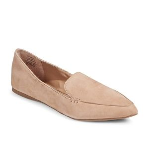 Steve Madden Apron Toe Suede Loafers